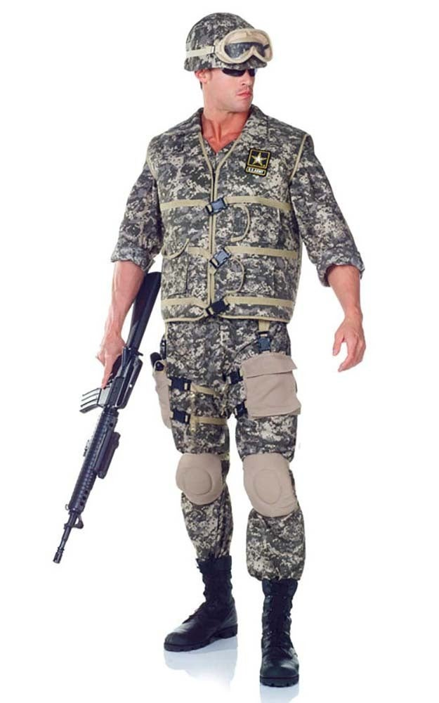 Army Ranger Military Adult Costume