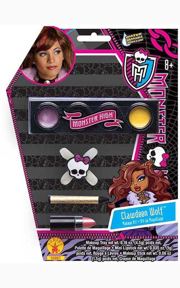 Clawdeen Wolf Monster High Makeup Kit