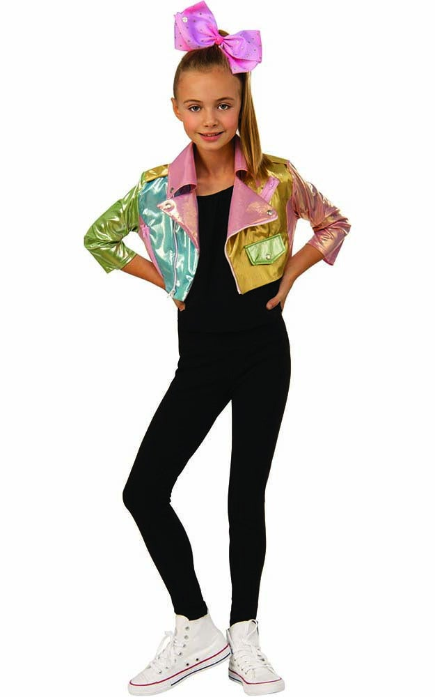Jojo Siwa Biker Jacket Child Costume