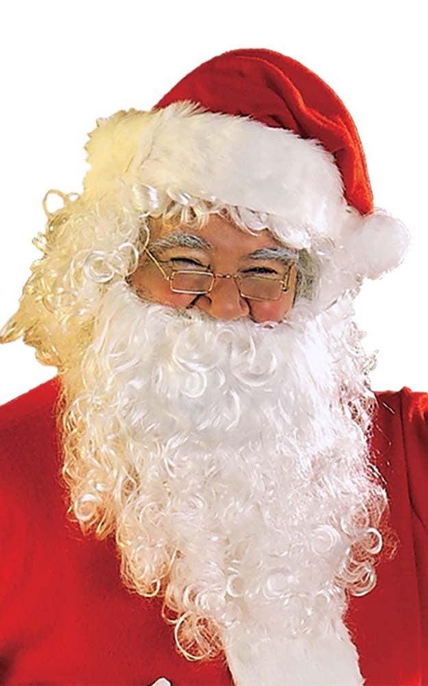 Santa Beard And Wig Adult Set