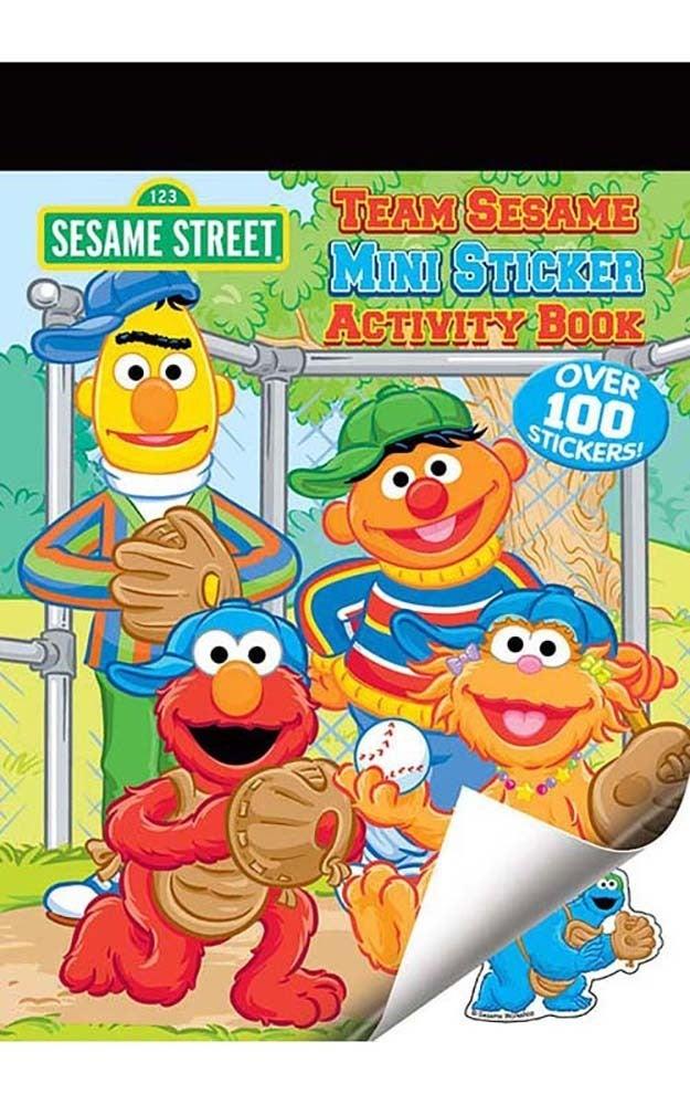 Sesame Street Sticker Activity Book