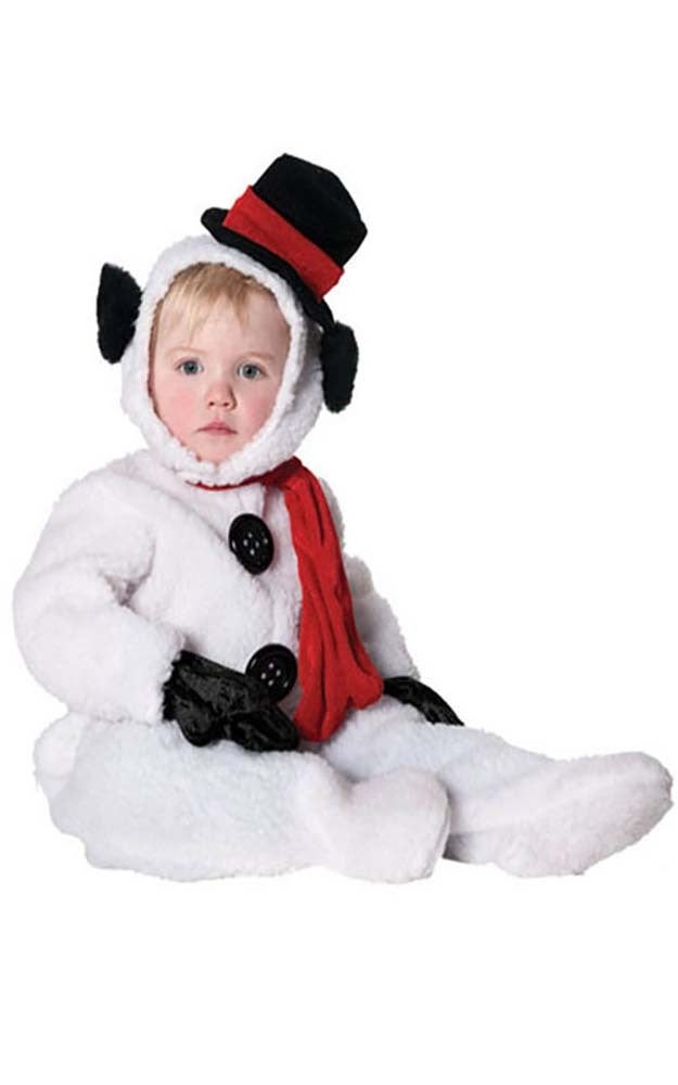 Snowman Christmas Jumpsuit Child Costume