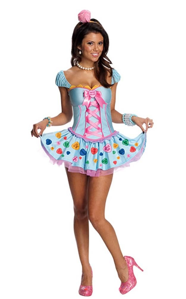 Sweetheart Adult Candy Costume