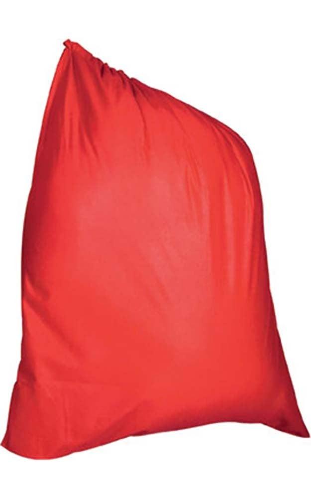 Velour Santa Clause Bag Sack