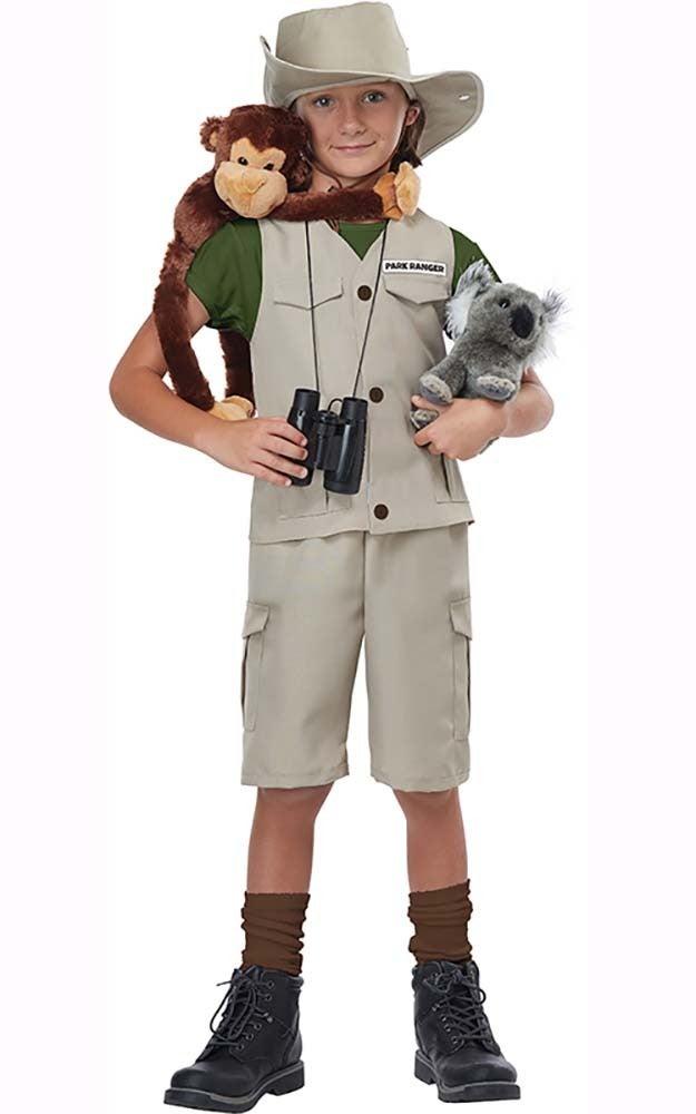 Wild Life Expert Zoo Keeper Child Costume