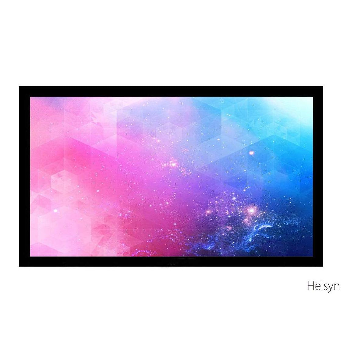 "Helsyn 140"" Acoustic Projector Screen 16:9 Woven - R140FFW"