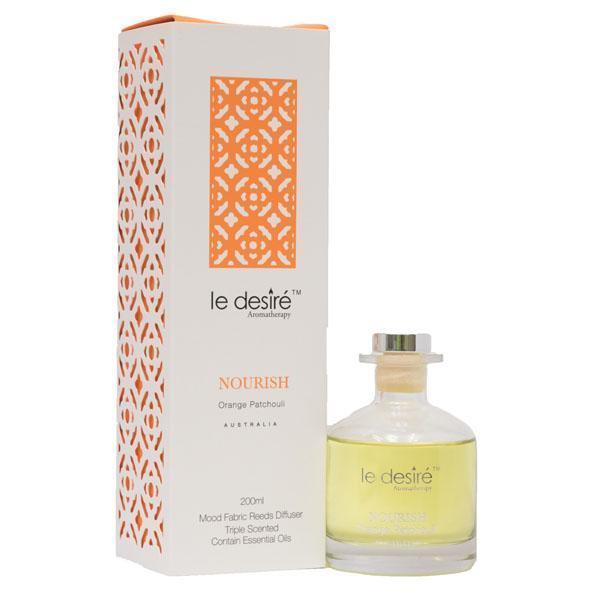 Le Desire Aromatherapy Reed Diffuser Nourish Orange Patchouli