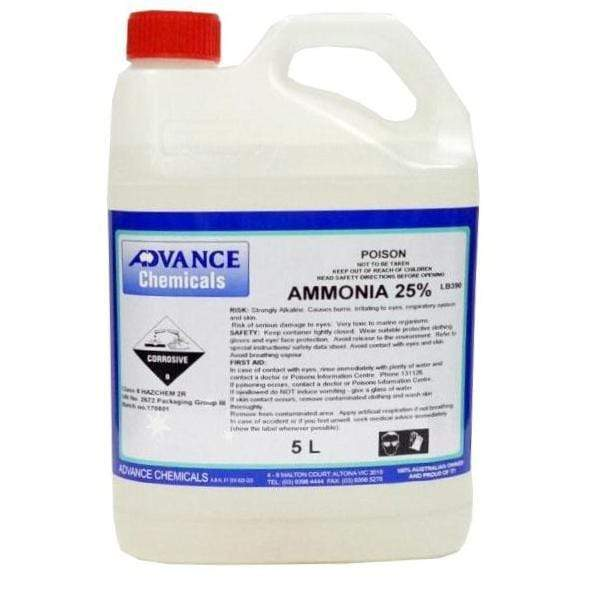 Clear Ammonia 25% 5Lt General Purpose Cleaner