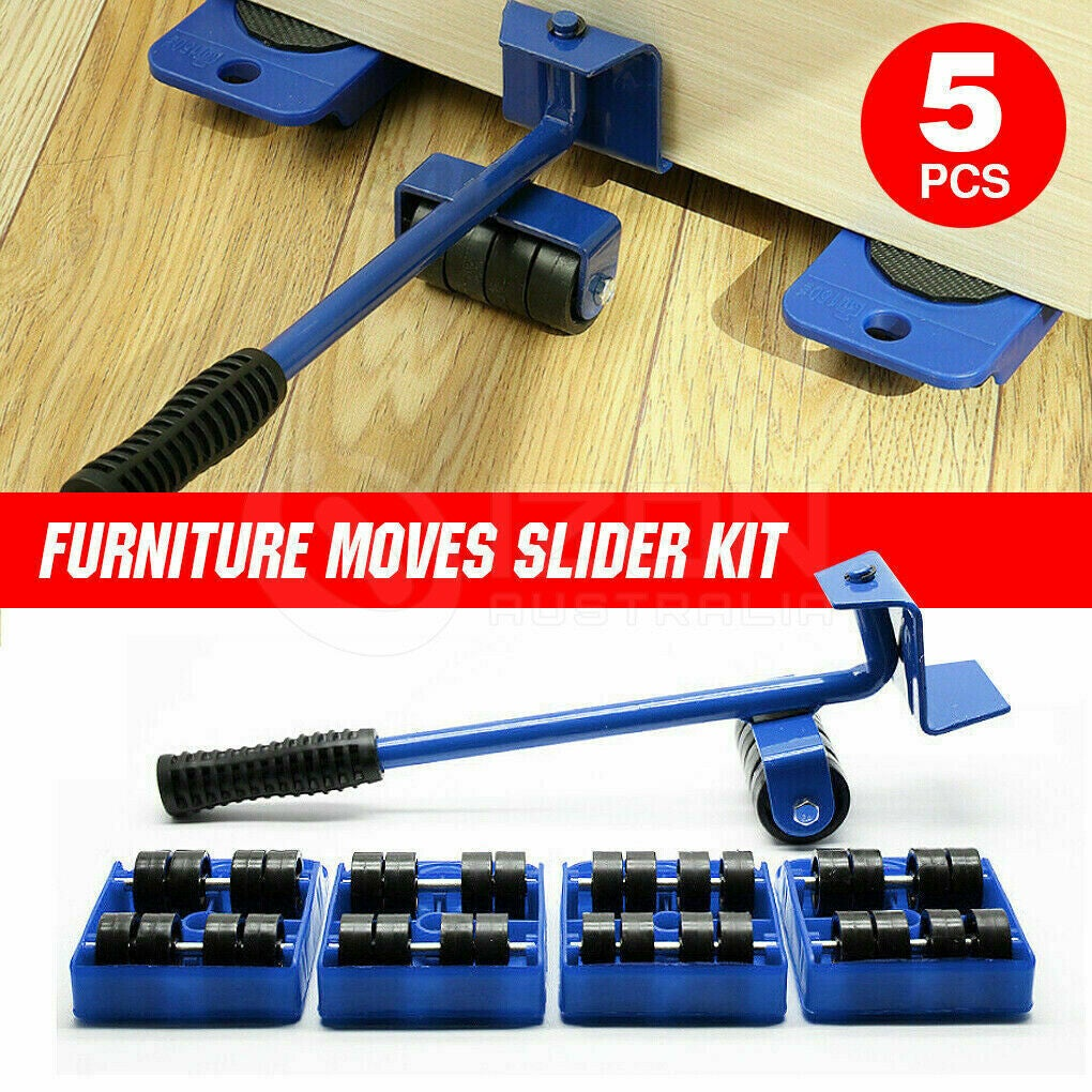 Furniture Lifter Heavy Roller Move Tool Set Moving Wheel Mover Sliders Kit AU