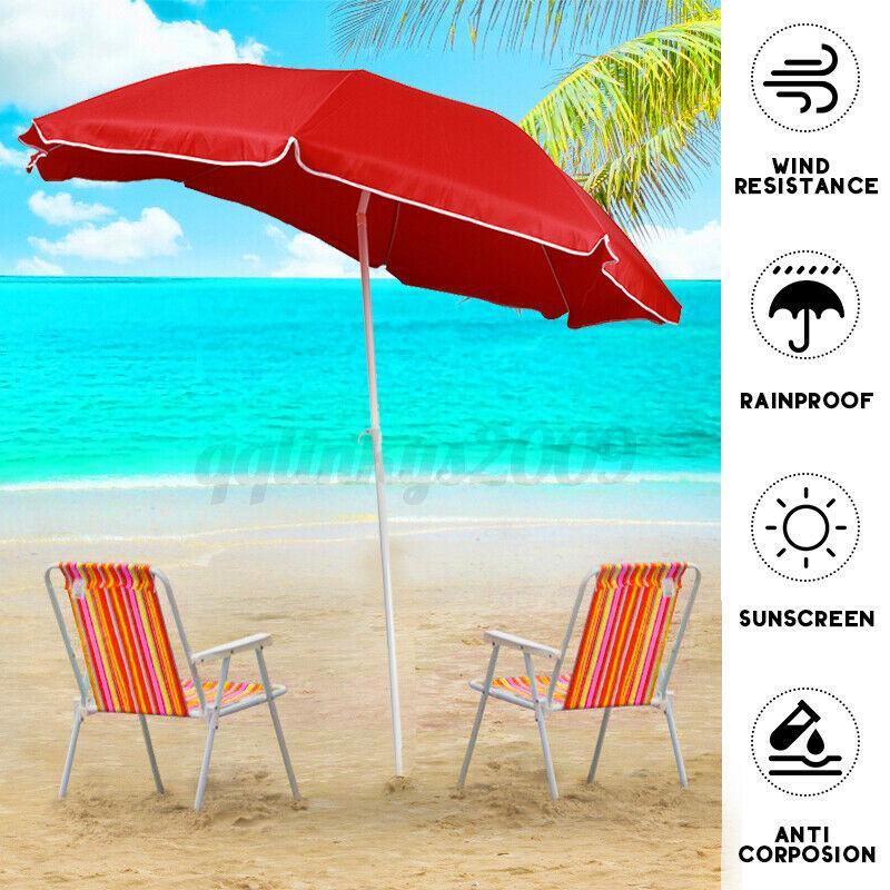 Outdoor Umbrella Cantilever Umbrellas Base Stand UV Shade Garden Patio Beach AU