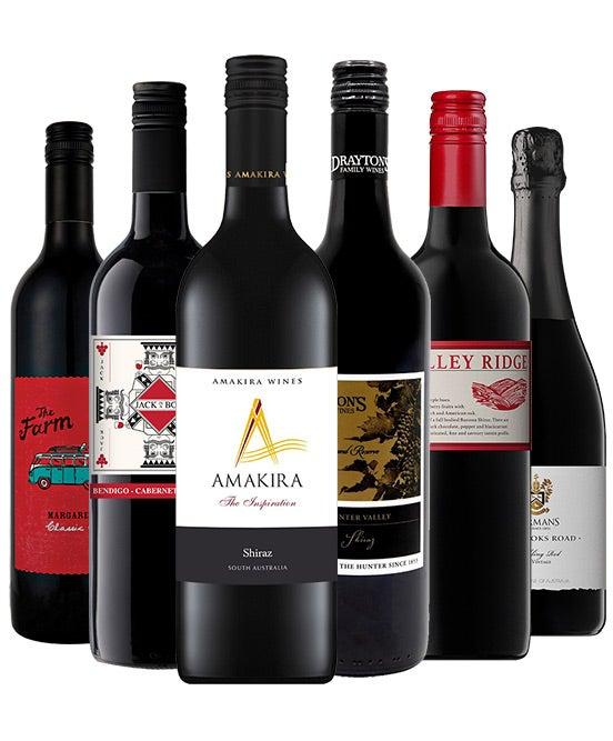 MyDeal Exclusive: Premium Mixed Red Wine Dozen