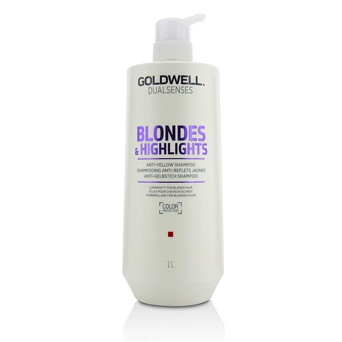GOLDWELL - Dual Senses Blondes & Highlights Anti-Yellow Shampoo (Luminosity For Blonde Hair)