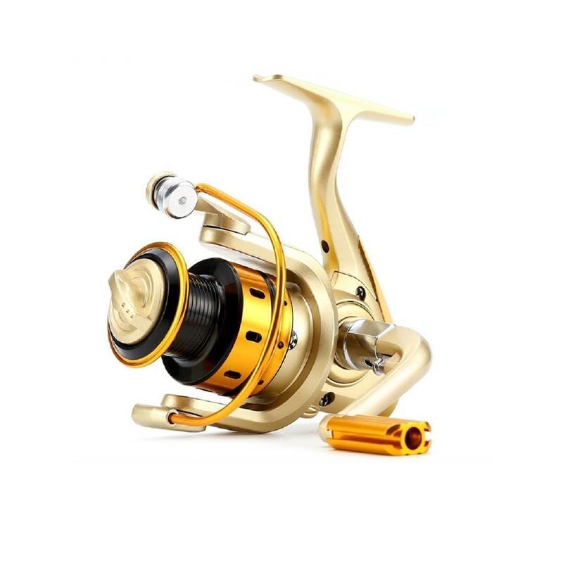 Catzon 10BB Metal Coil Spinning Reels Lure Wheel Carp Fishing Reel DDL MR