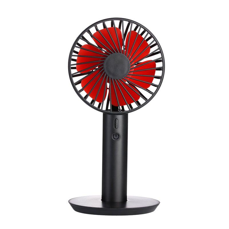 Catzon B Younger Hand-Held Desktop Fan Portable Mini USB 3 Speeds Fan Cooler for Home Office Outdoor-Black