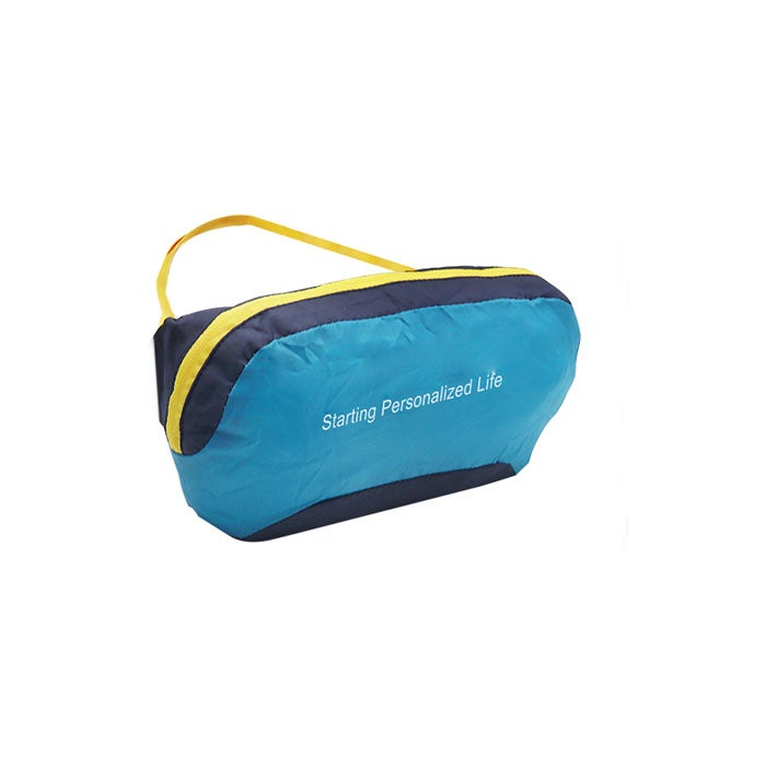 Catzon Outdoor Lightweight Belt Bag Foldable Waistband Bag For Traveling Sports And Hiking RH60 -Blue