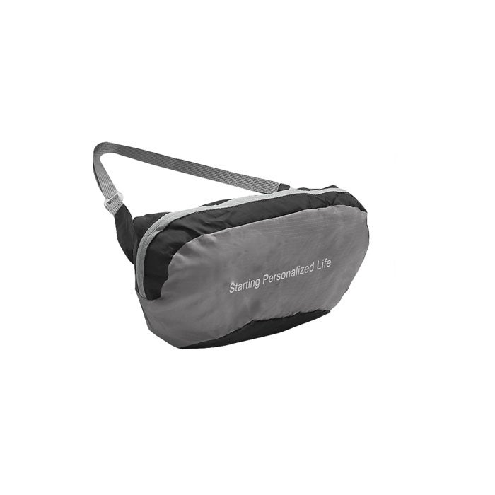 Catzon Outdoor Lightweight Belt Bag Foldable Waistband Bag For Traveling Sports And Hiking RH60 -Gray