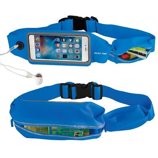 Catzon RH16 Sport Waist Bag Screen Touching Waterproof Running Belt Pouch Mobile Phone Holder For Man Woman-Blue