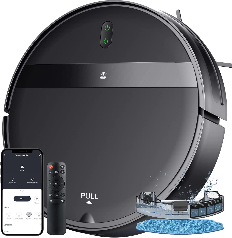 Robot Vacuum Cleaner Smart Robotic Diffuser Humidifier Hard Floor BRAND NEW