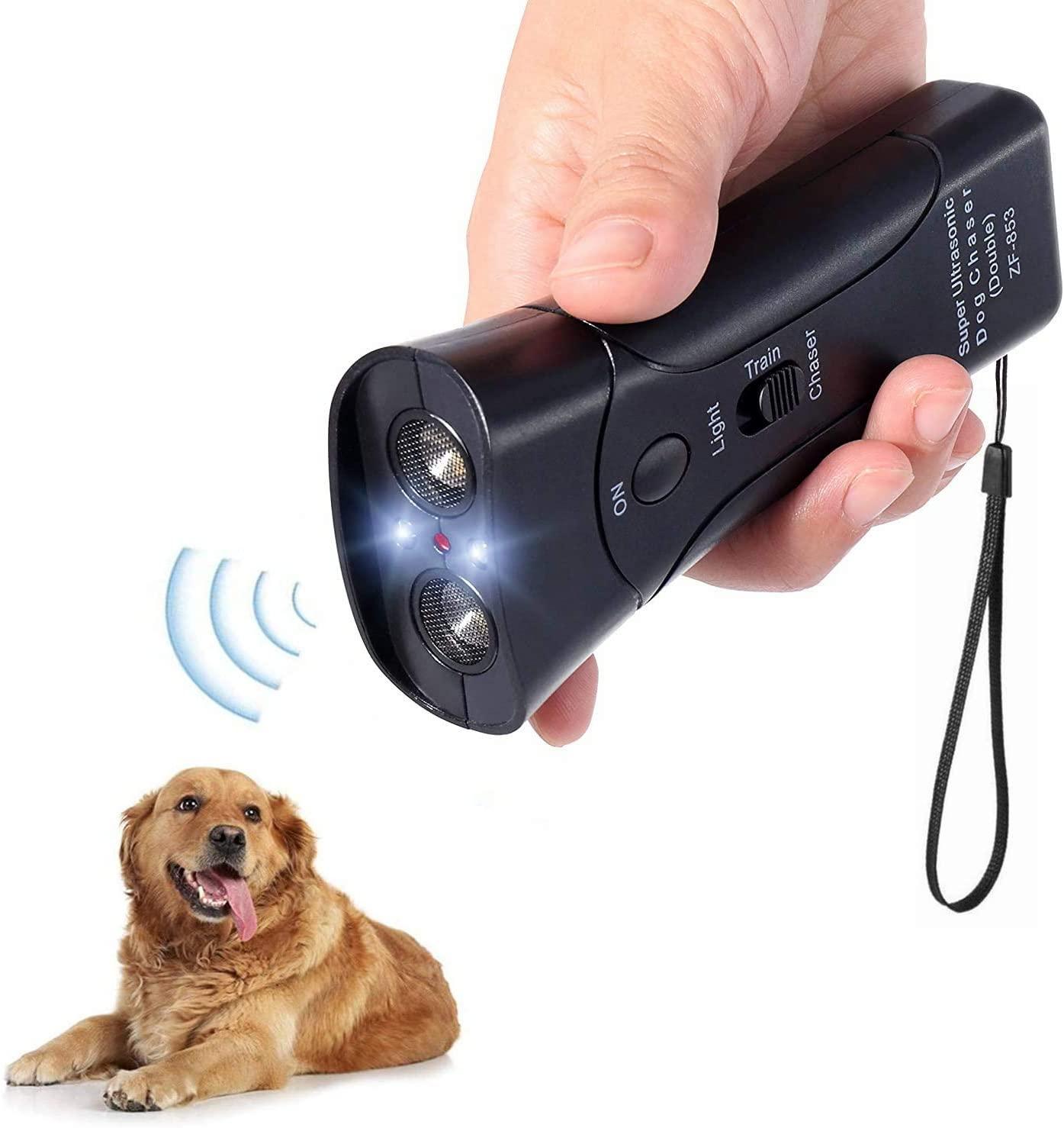 Ultrasonic Pet Dog Stop Barking Away Anti Bark Training Repeller Control Device