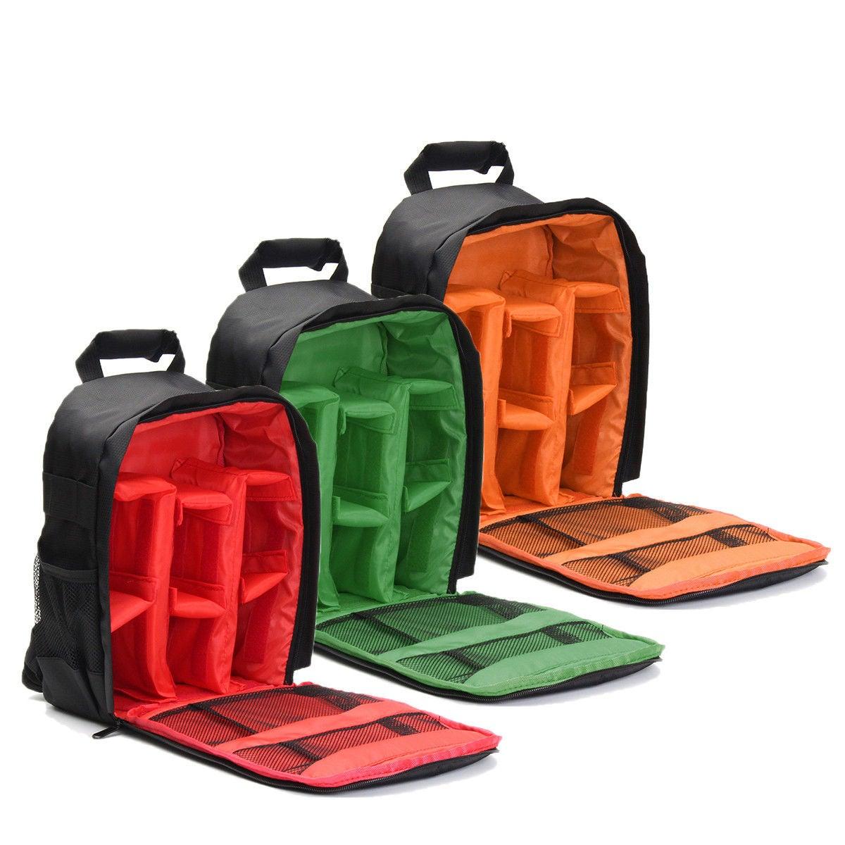 Waterproof DSLR SLR Case Camera Backpack Shoulder Bag For Canon / Nikon / Sony