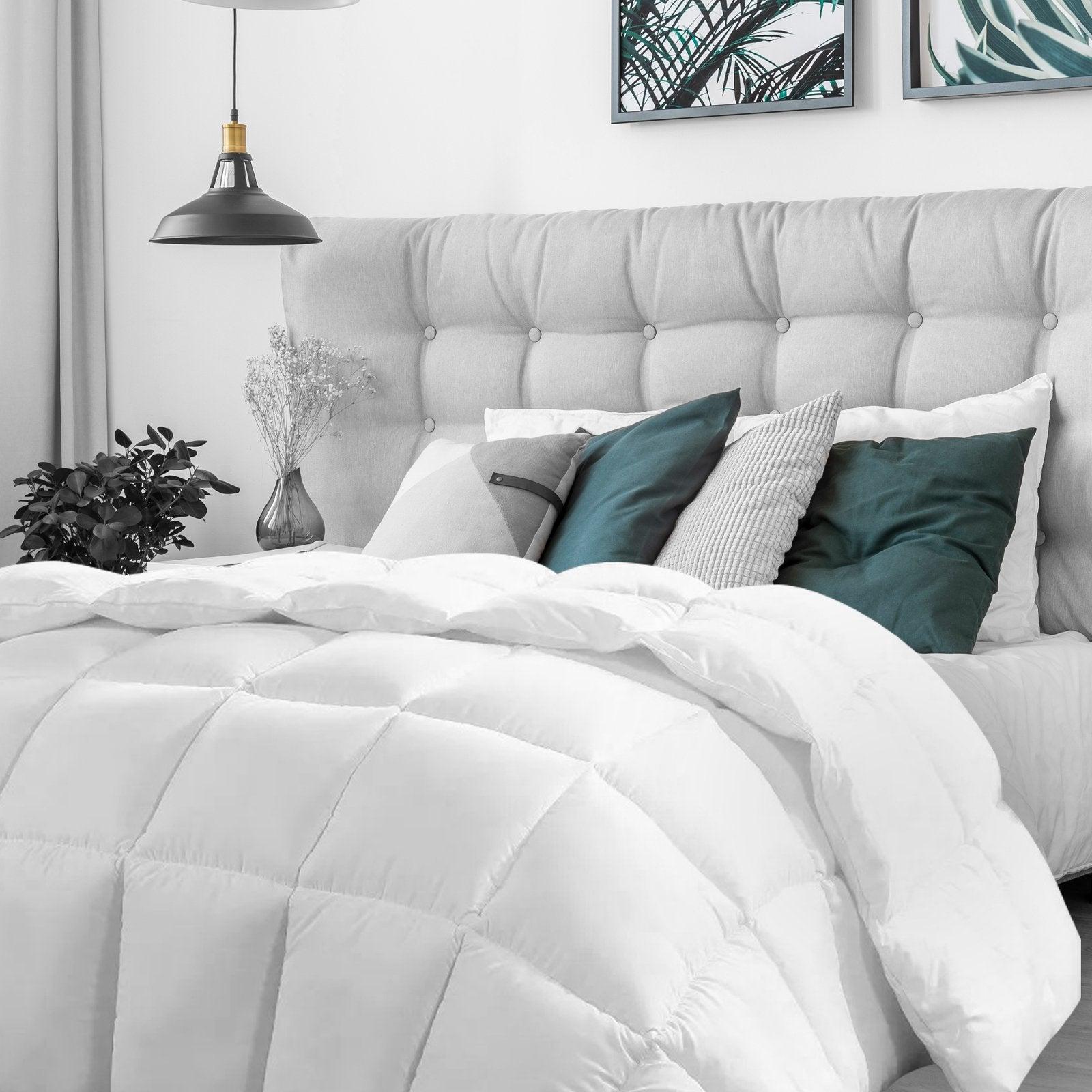 Casa Decor Silk Touch Quilt 360GSM All Seasons Antibacterial Hypoallergenic