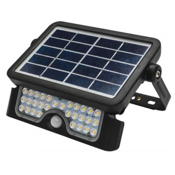 Defender Outdoor LED Solar Flood Light 5w in Black