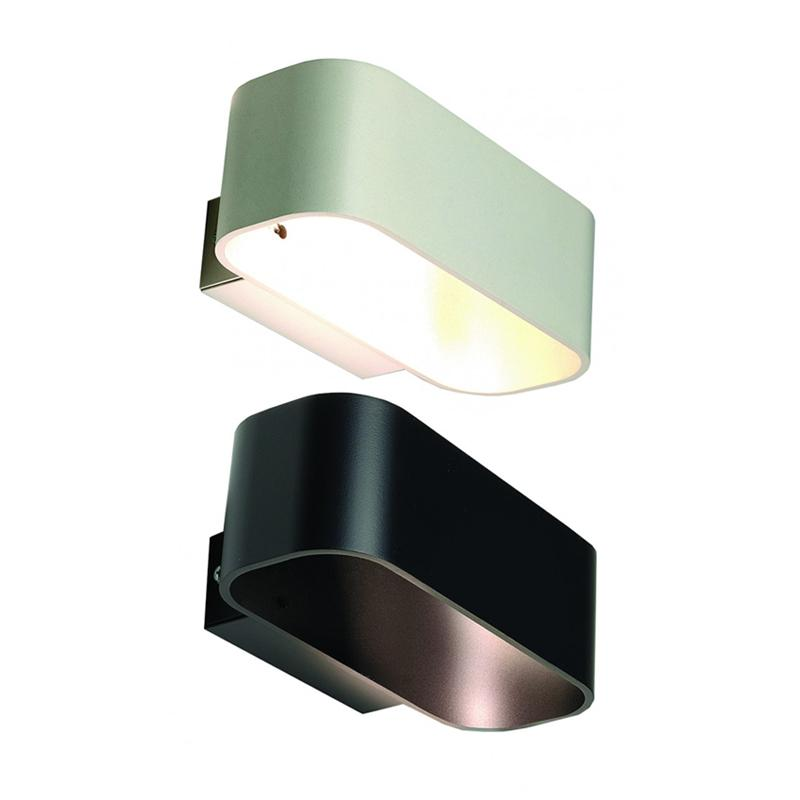 LED 5W Metal Wall Light in Black or White Superlux Lighting - WL170-BL, WL170-WH