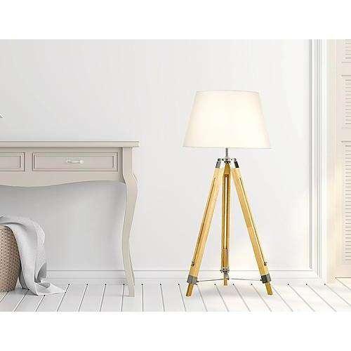 Unique Modern Wooden Floor Lamp