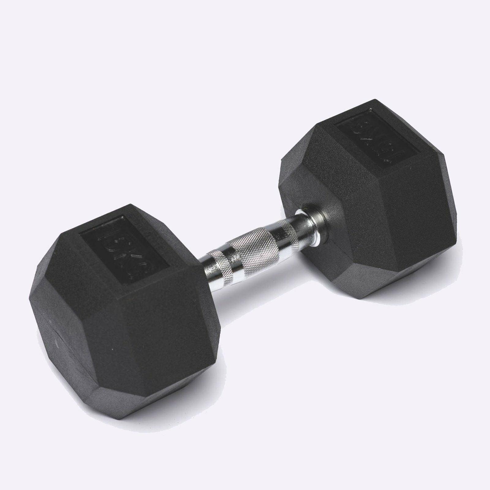 Hex Dumbbells (Sold Individually) 12.5KG - 20KG