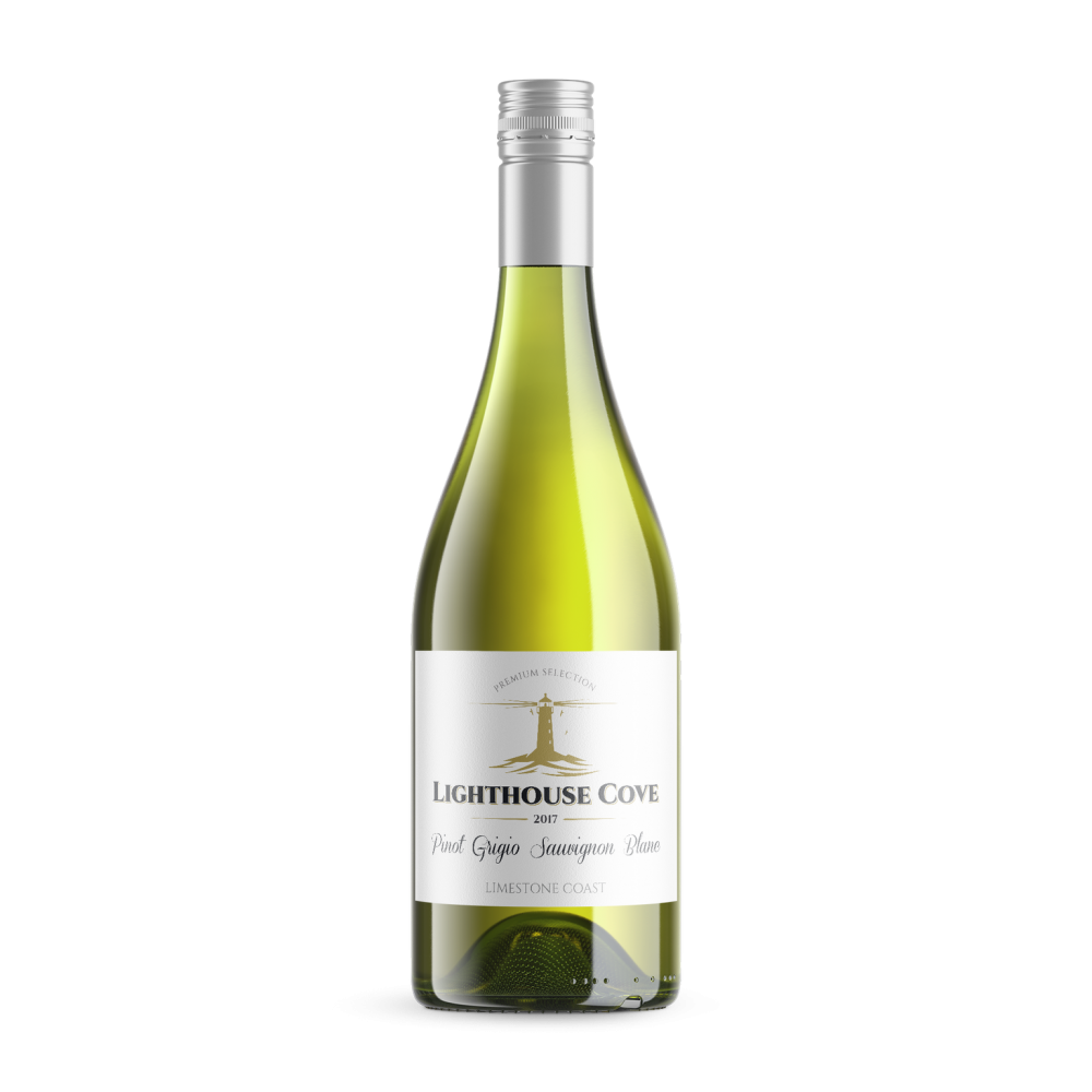 12 Bottles of 2017 Lighthouse cove Pinot grigio Sauv Blanc Limestone coast