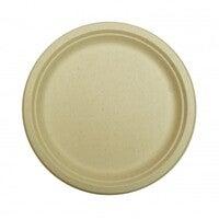 Kraft Plant Fibre Plates - 260mm
