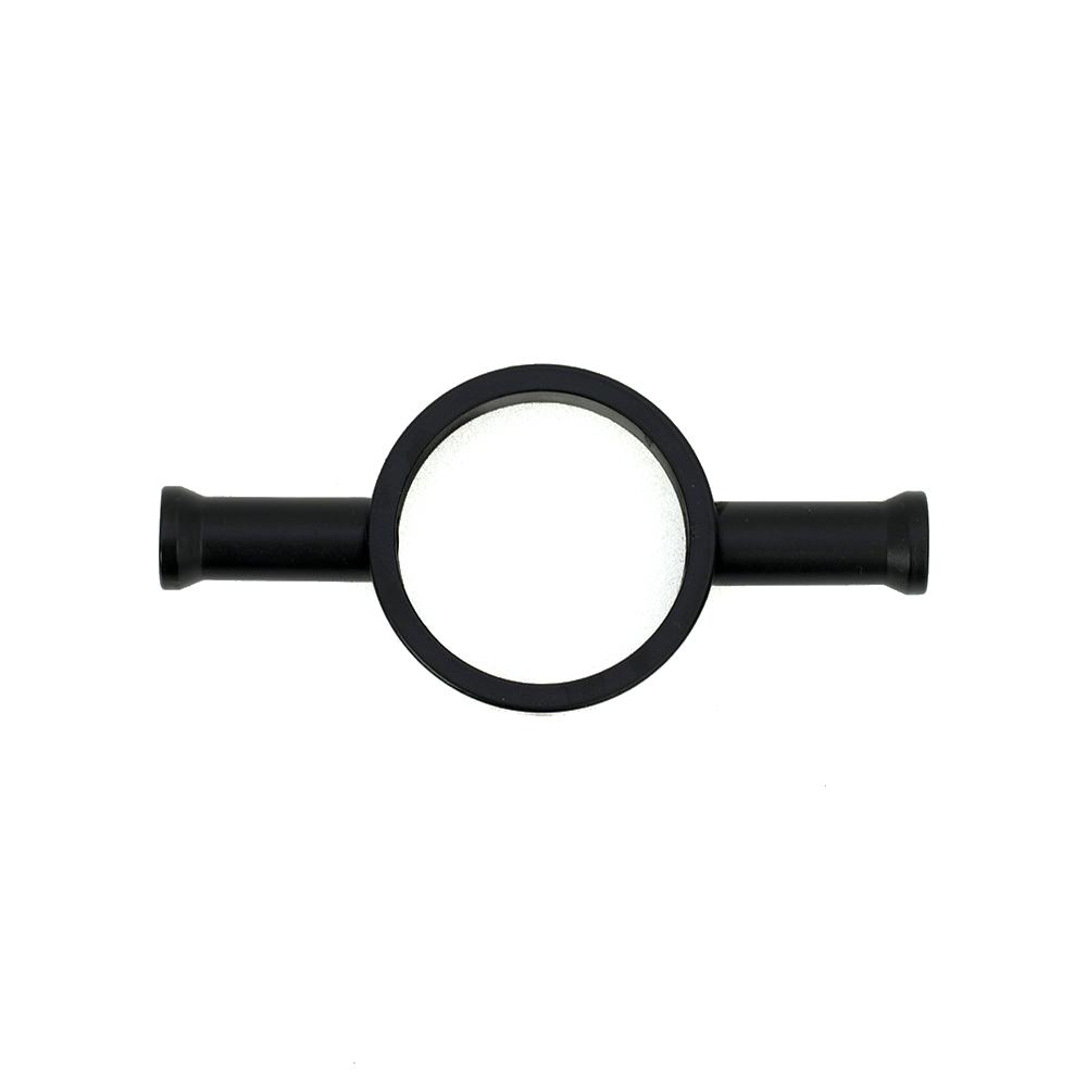 Radiant Hook - Suit Vertical Single Bar Matte Black BLK-VTR-HOOK