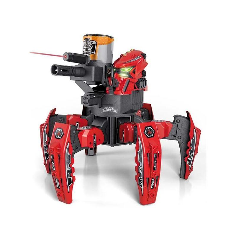 Space Warrior Spider Battle Bot Shooting Soft Bullet RC Remote