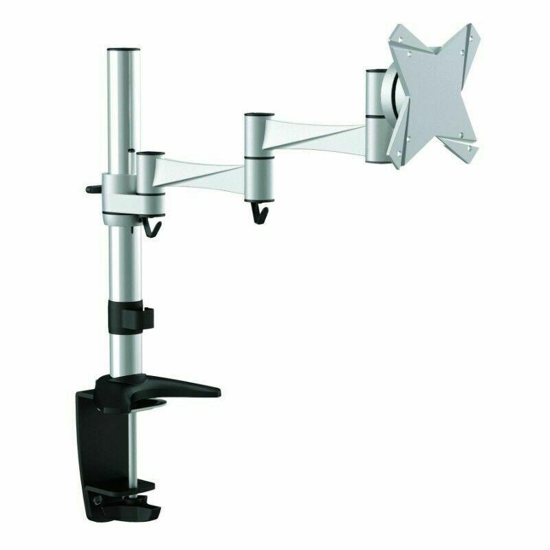 Astrotek Monitor Stand Desk Mount 43cm Arm for Single Display 13'-34' 10kg 15°