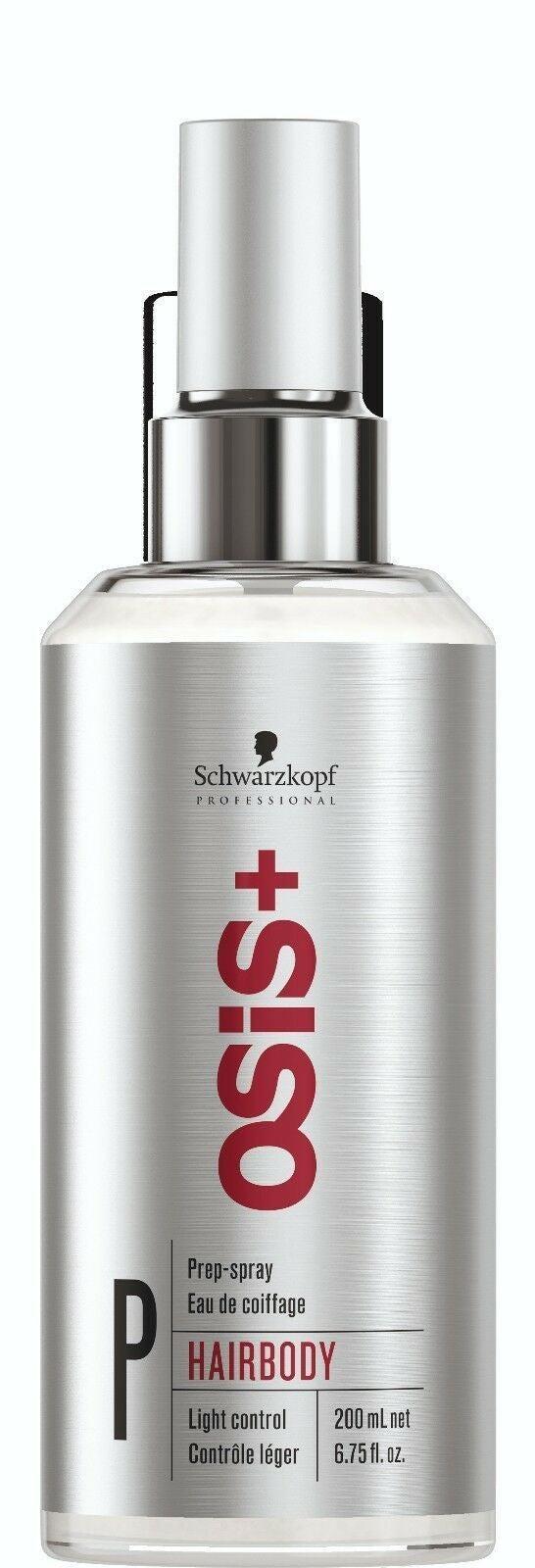 Schwarzkopf Osis + Hair Body Prep Spray 200ml x 1 Hairbody