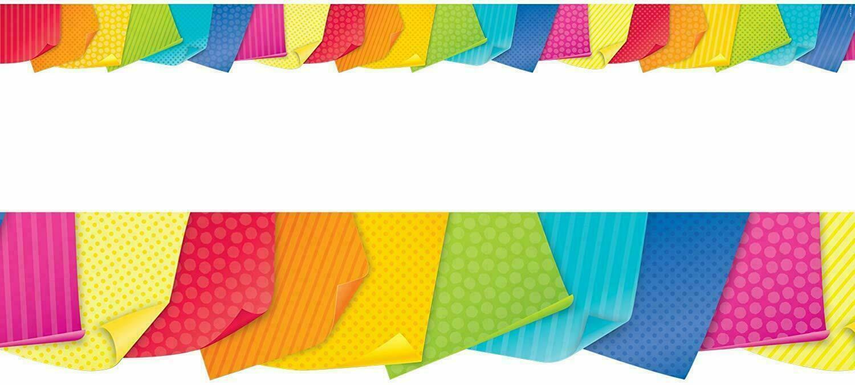 Creative Teaching Press Bold & Bright Sticky Notes Border (8346)