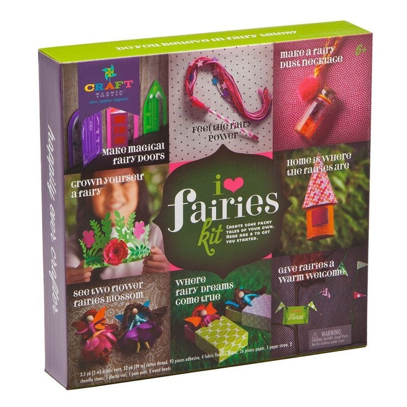 Craft-tastic I Love Fairies Kit by Ann Williams