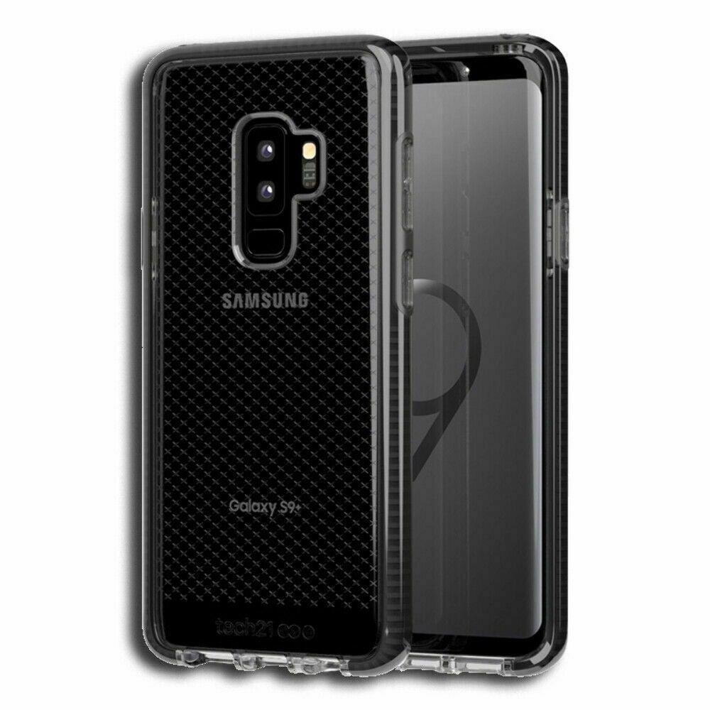 Tech21 T21-5835 Galaxy S9 Plus Check Case - Smokey Black