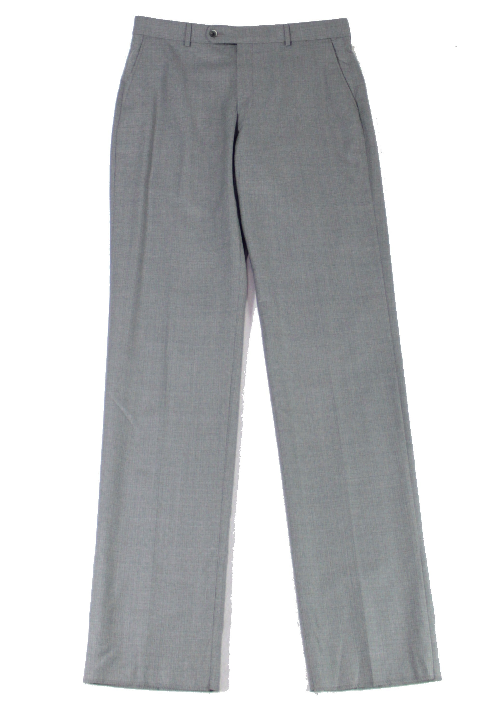 Ballin Mens Dress Pants Gray Size 34X38 Comfort Dunhill Wool Stretch