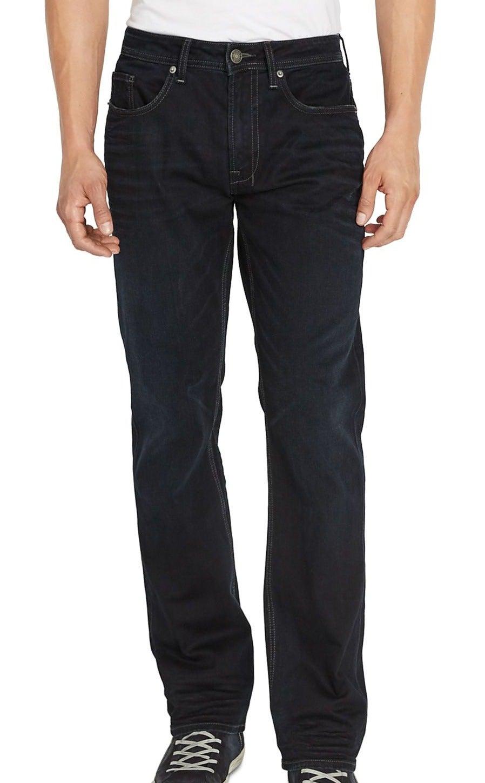 Buffalo David Bitton Mens Jean Blue Size 38X32 Ash-X Slim Fit Stretch