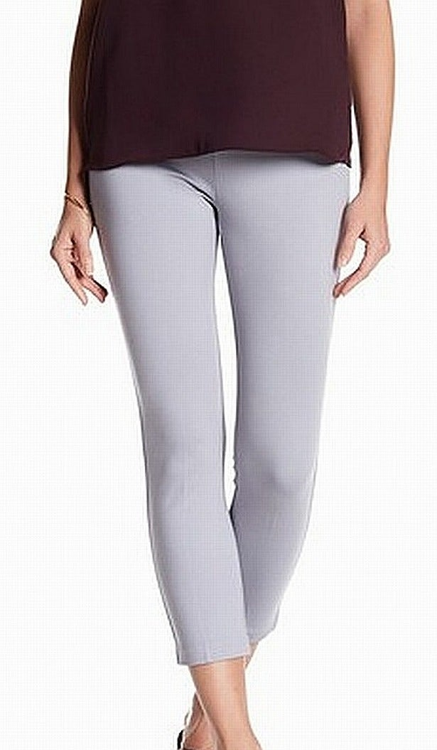 Insight Women's Pants Gray Size 16P Petite Cropped Stretch Pull On