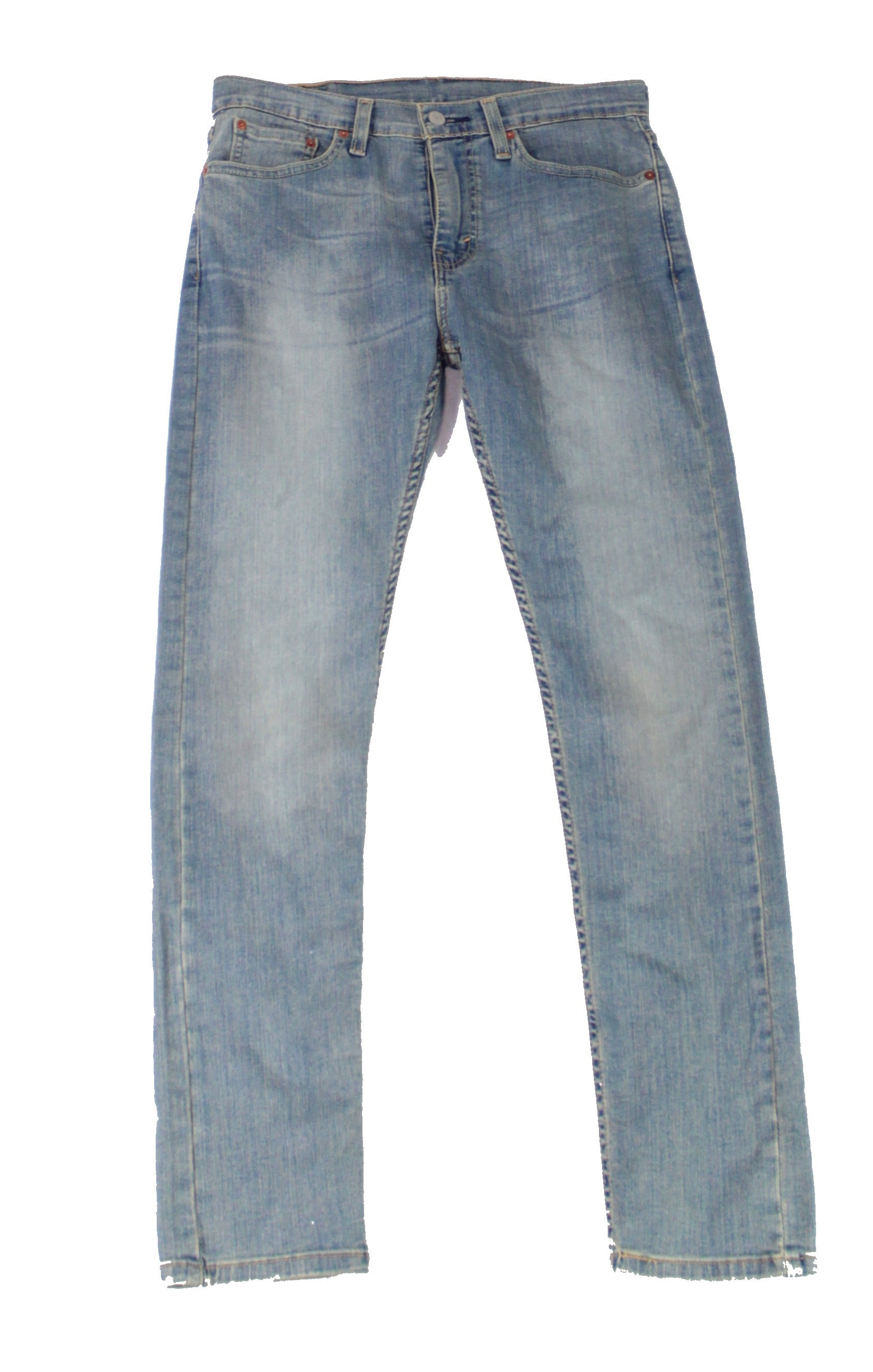 Levi's Mens Jeans Blue Size 31X32 510 Skinny Zip-Fly Washed Stretch