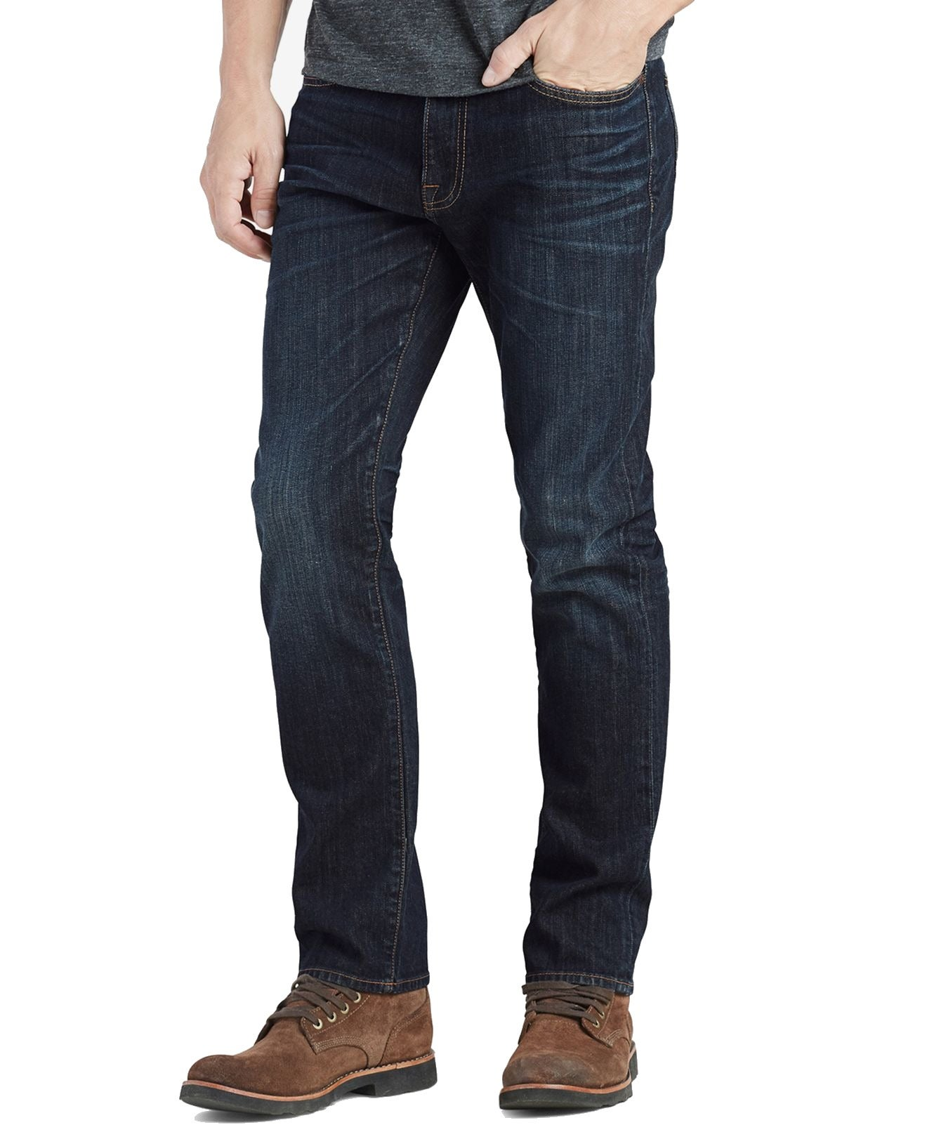 Lucky Brand Mens Jeans Blue Size 36X34 410 Athletic Slim Stretch