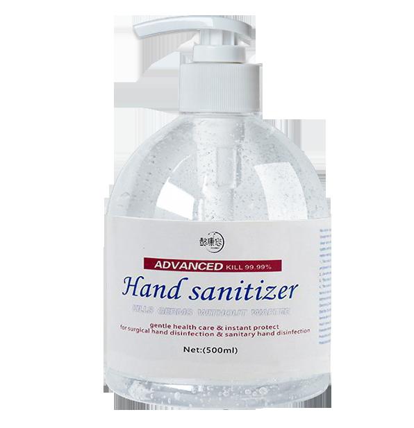 3x500ml 75% Ethanol Hand Sanitiser Antibacterial Hand Wash Disinfectant Kill 99.99% Germs