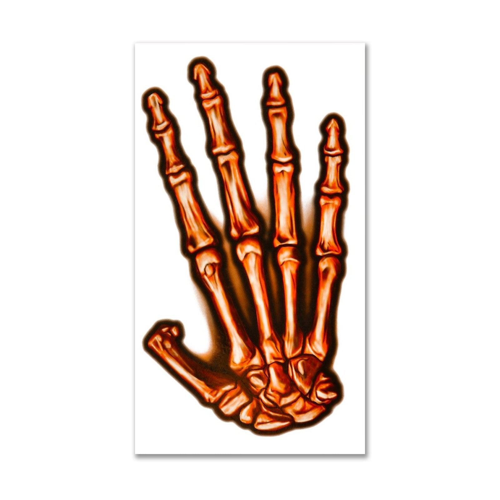 Skeleton Large Tattoo Kit Unisex Black