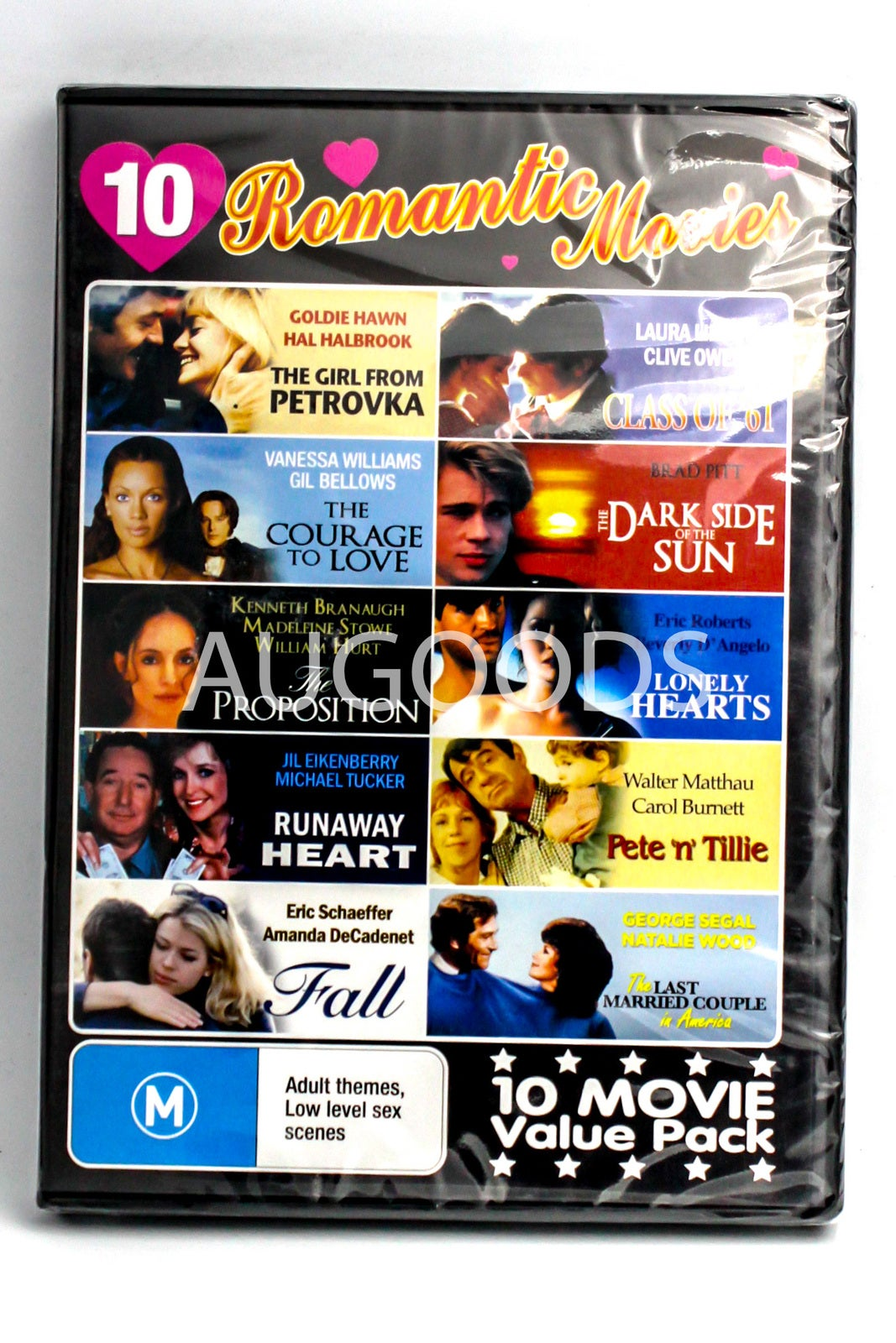 10 Romantic Movies - VALUE MOVIE SET - Rare DVD Aus Stock New Region ALL