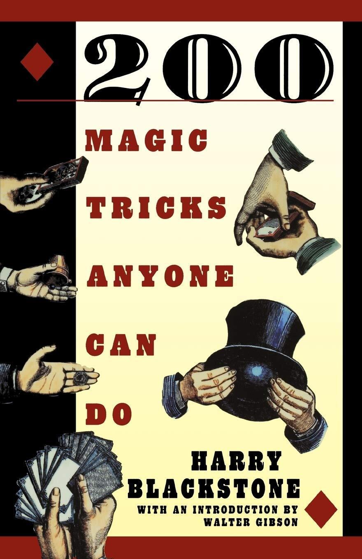 200 Magic Tricks Anyone Can Do Harry Blackstone Paperback Book