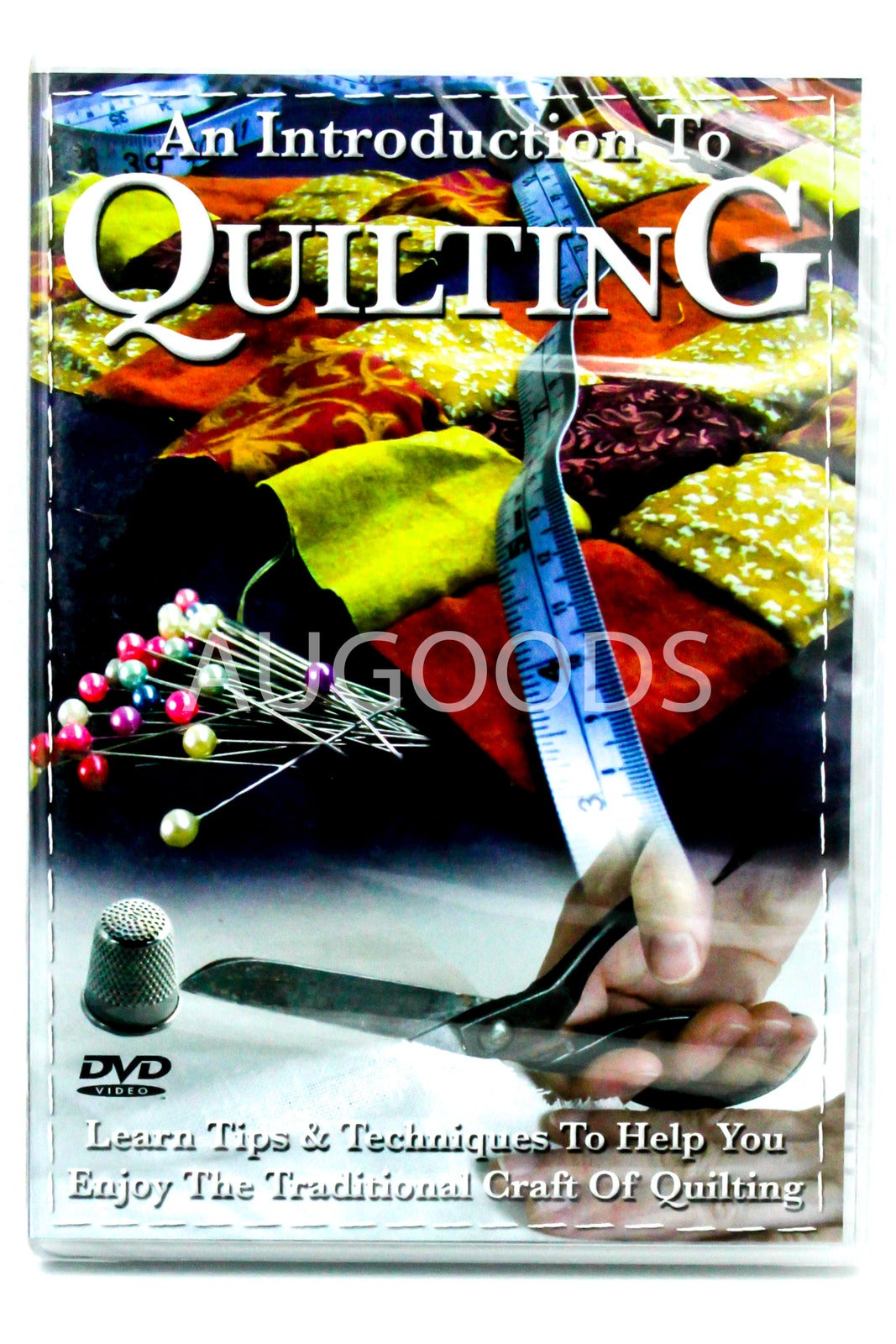 An Introduction to Quilting -Educational DVD Series Rare Aus Stock New