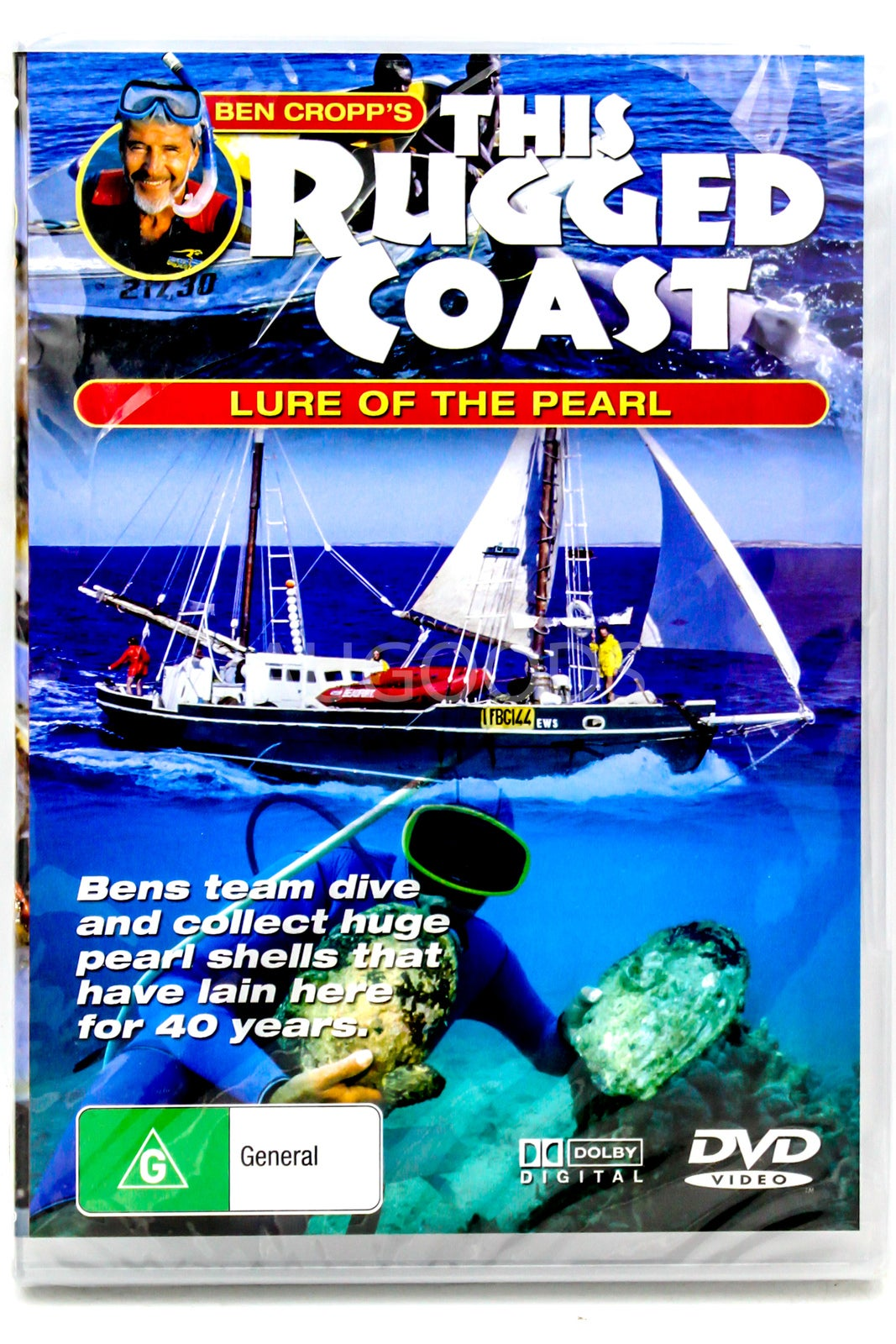 Ben Cropp's This Rugged Coast - Lure of the Pearl -Educational DVD Series New