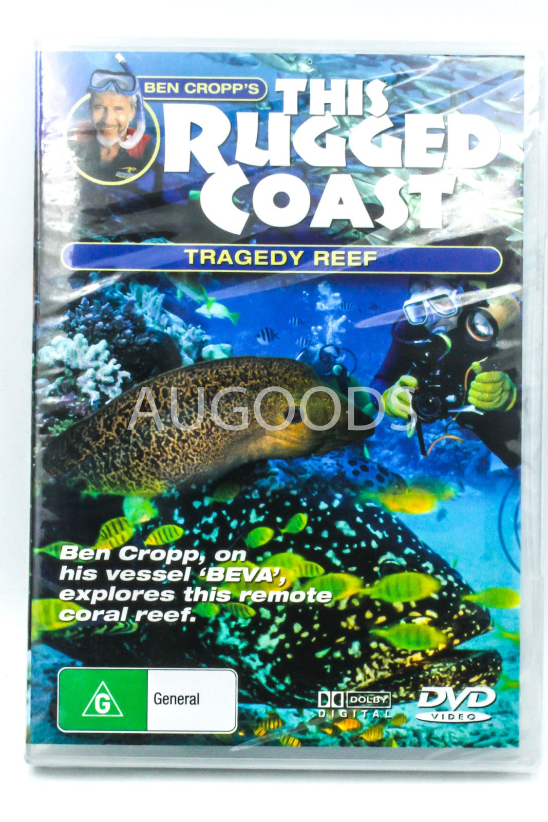 Ben Cropp's This Rugged Coast- Tragedy Reef -Educational DVD Series New